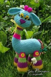 Страница 1 из 5 - Радужная жирафа Ангелина - отправлено в МК по вязанию игрушек:   Прошу не публиковать данный мастер-класс на других ресурсах без ведома автора. Готовой игрушкой можете распоряжаться по своему усмотрению (дарить, менять, продавать, в т.ч. в интернете). Буду благодарна, если при размещении изображений связанной вами игрушки, вы будете указывать имя автора описания и ссылку на источник. Спасибо и удачного вязания!  Добрый день! Хочу познакомить вас с...
