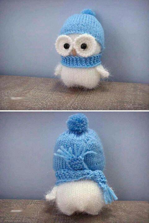 buho amigurumi owl