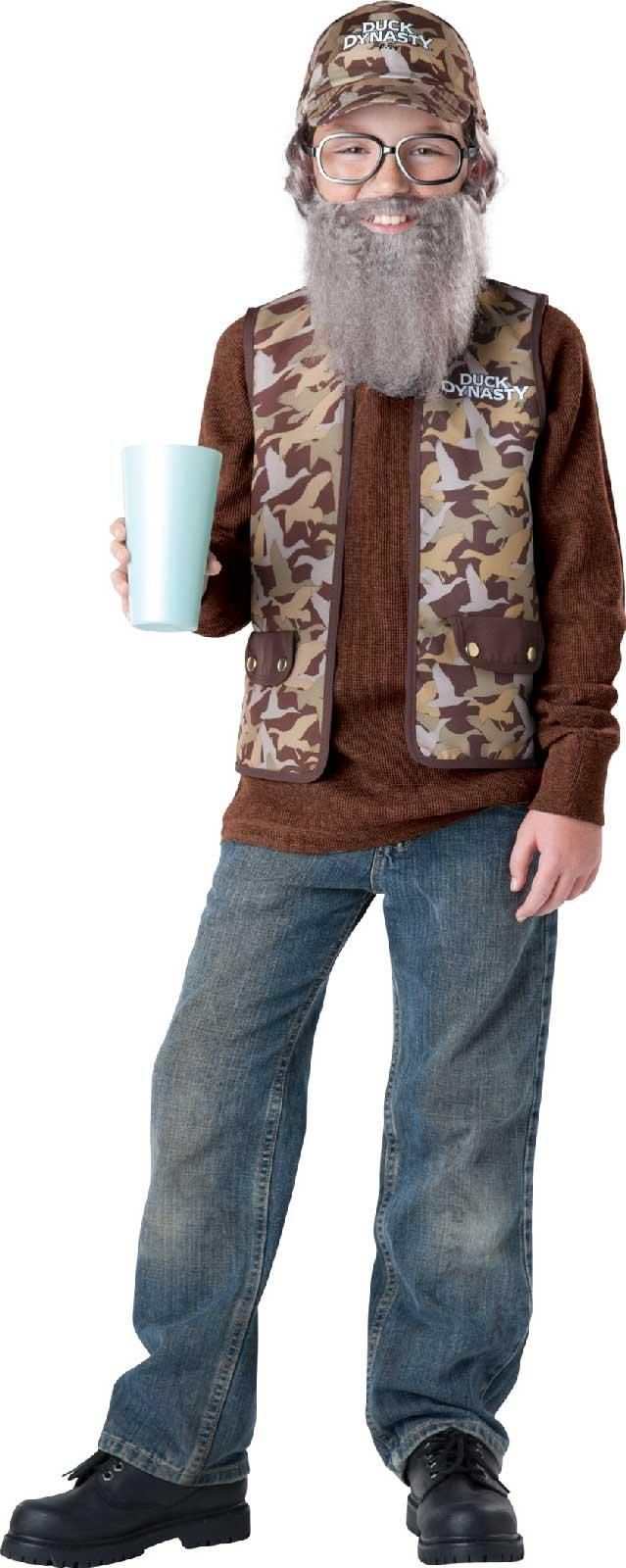 Duck Dynasty - Uncle Si Child Costume from Buycostumes.com