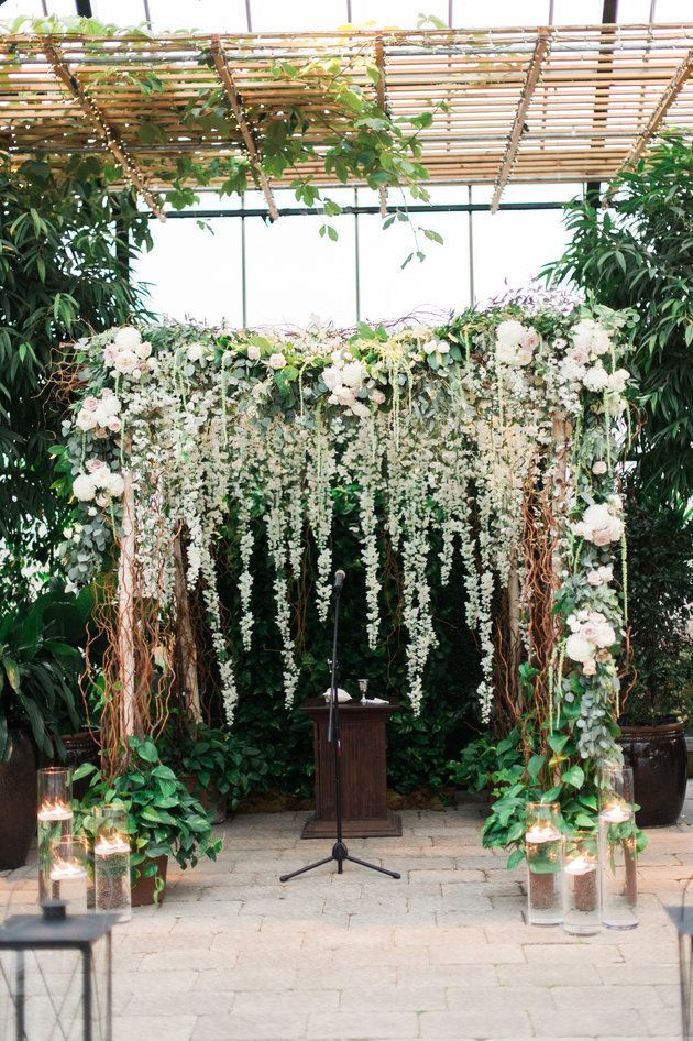Lush florals create a romantic, beachy vibe at this wedding | Kelly Sweet…