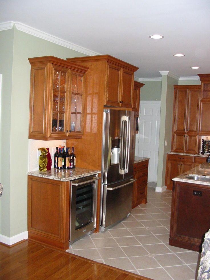 Best Cabinets Around Fridge Kitchen Pinterest Cabinets 400 x 300