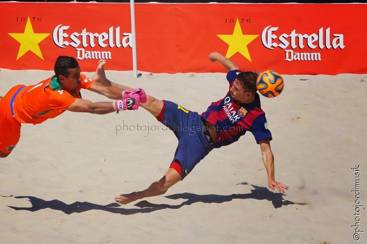 Beachsoccer match 3rd and 4th place Barcelona Cub FC Barcelona - Sporting Clube de Portugal 2015