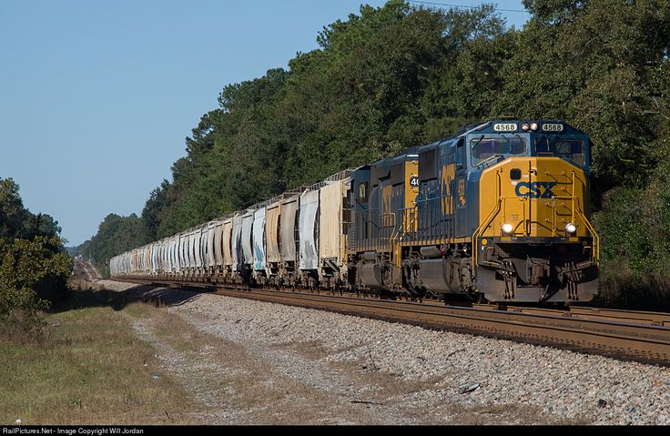 RailPictures.Net Photo: CSXT 4568 CSX Transportation (CSXT) EMD SD70M at Charleston, South Carolina by Will Jordan