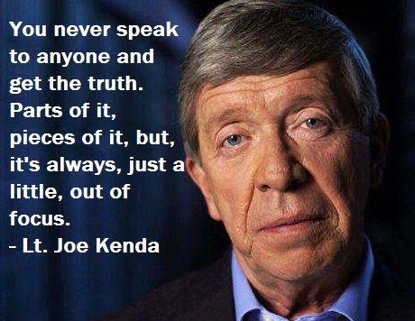 Lt joe kenda knows people quotes pinterest detective true