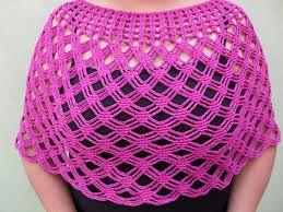 patrones de capas tejidas a crochet - Buscar con Google
