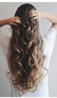 Casual curls