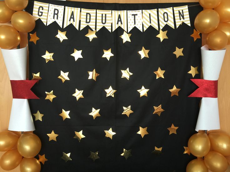 Photocall graduation.  Apapachoa~Arte
