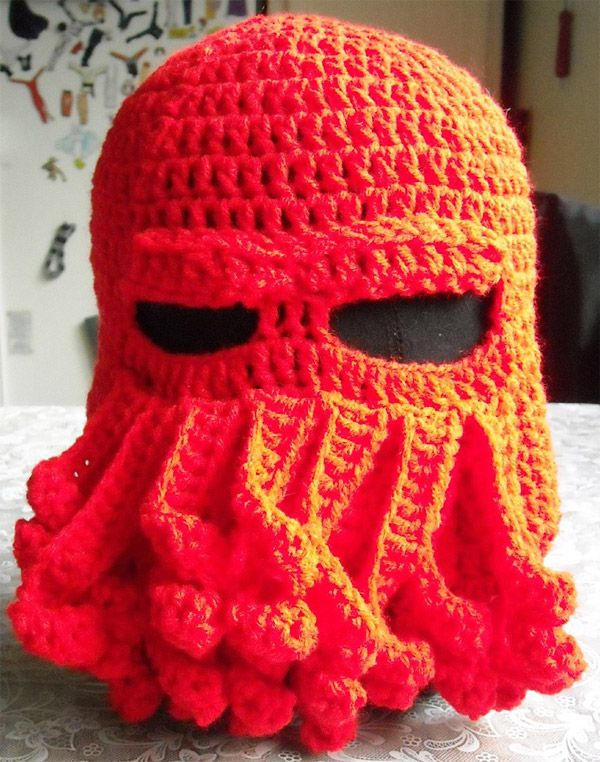 Zoidberg Hat?: Crafts Ideas, Cthulhu Skiing, Red Cthulhu, South Park, Geek Fashion, Crochet Hats, Skiing Masks, Skiing Hats, Hats Red