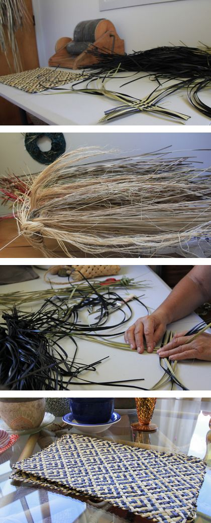 An advert in a shop window was the first step in a new creative direction for Colleen Jamieson. In her hilltop cottage in the rural Northland district of Kaipara, she now weaves flax into beautiful kete, household items and traditional Māori clothing, while her daughter Dusk assists with the running of her Felt shop, Souly Fibre.