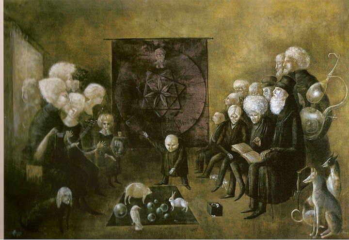 Litany of the Philosophers / Leonora Carrington