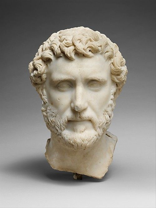 Antoninus Pius. Roman Emperor from 138 to 161 AD. Marble. Metropolitan Museum of Art, New York. Number 4 of the Five Good Emperors, he reigned over a time of relative peace, and had the good sense to designate Marcus Aurelius as his heir. (Lucius Verus co-ruled with Marcus for awhile but he basically just threw parties.)