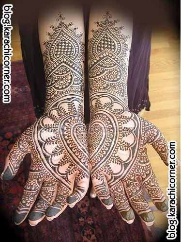 heart henna