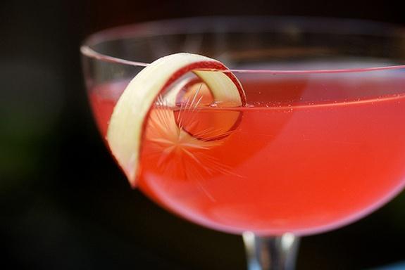 Rhubarb Cocktails... scrumptious!