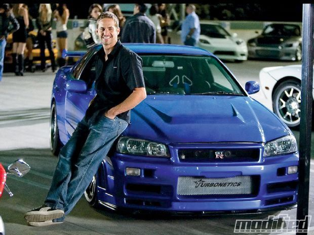 Honourable mention: Brian O'Connor's (Paul Walker) Nissan Skyline GTR R34. Fast & Furious was good purely because of these 2 beasts. Oh, and Vin Diesel. Rawr.