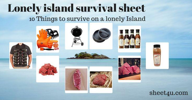 Einsame Insel?  Egal ... machen wir eine Insel-Grill-Party draus!  Gute Idee!