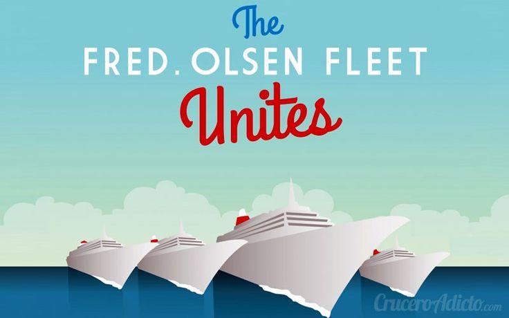 Fred Olsen reunirá toda su flota en Cádiz y Funchal. Será la segunda y tercera vez en que la naviera posicione  para un evento sus cuatro barcos de cruceros.