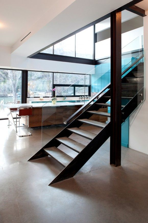 This Home On Lake Austin Has Some Major Factors I Find Appealing From The Colorful