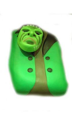 Plastron Frankenstein + Masque