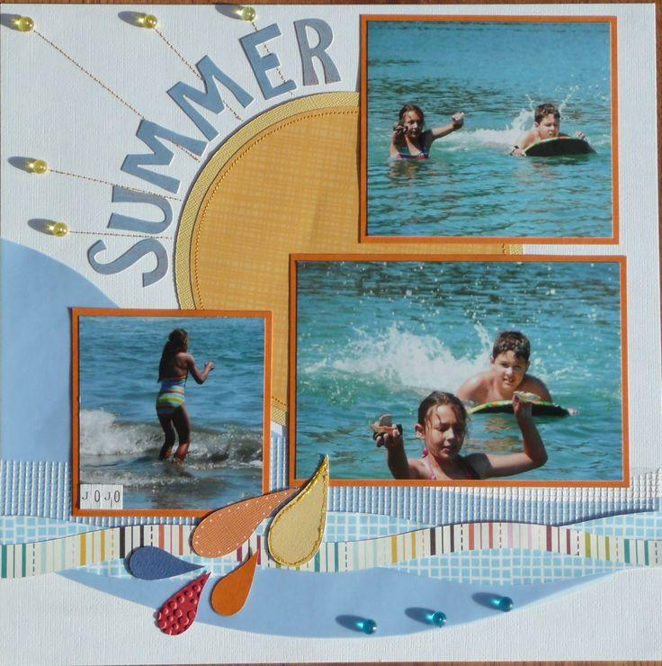 Summer Splash page 1 - Scrapbook.com