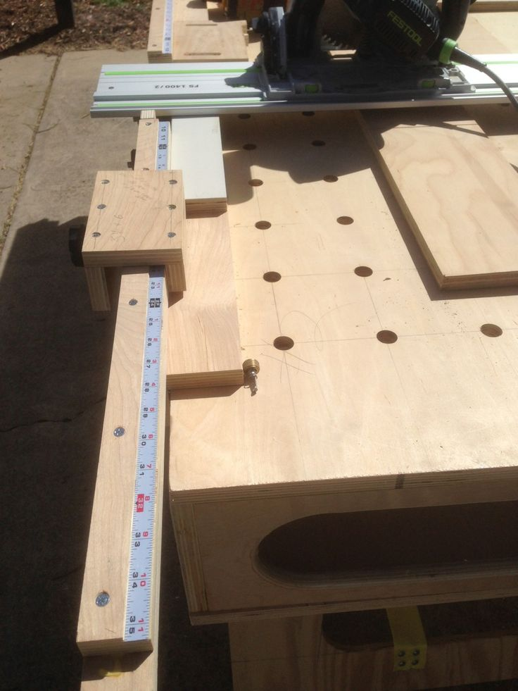 Workbench Plans Vaughan's version of the Paulk Workbench #workbench #diy #woodworking #carpentry...