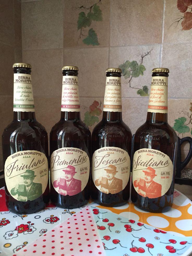 4 tipi di birra Moretti