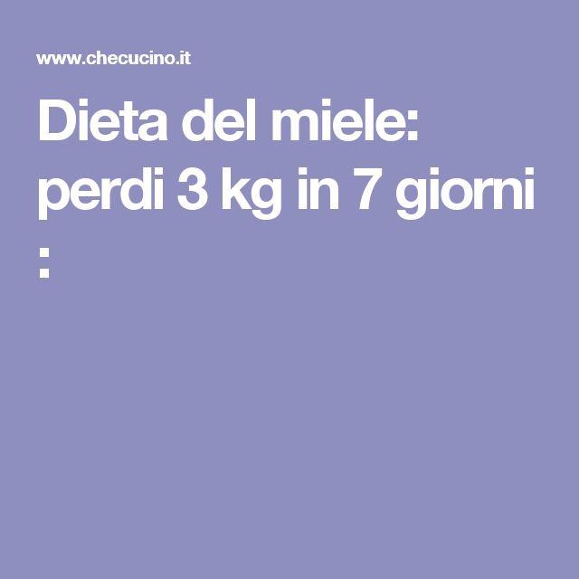 Dieta del miele: perdi 3 kg in 7 giorni :