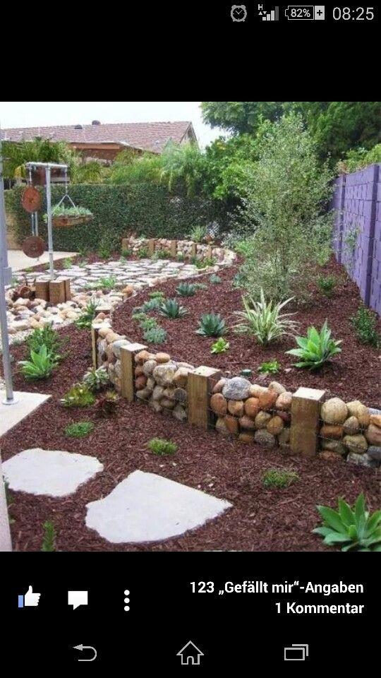 die 9 besten bilder zu gartenmauer auf pinterest | gärten, Best garten ideen