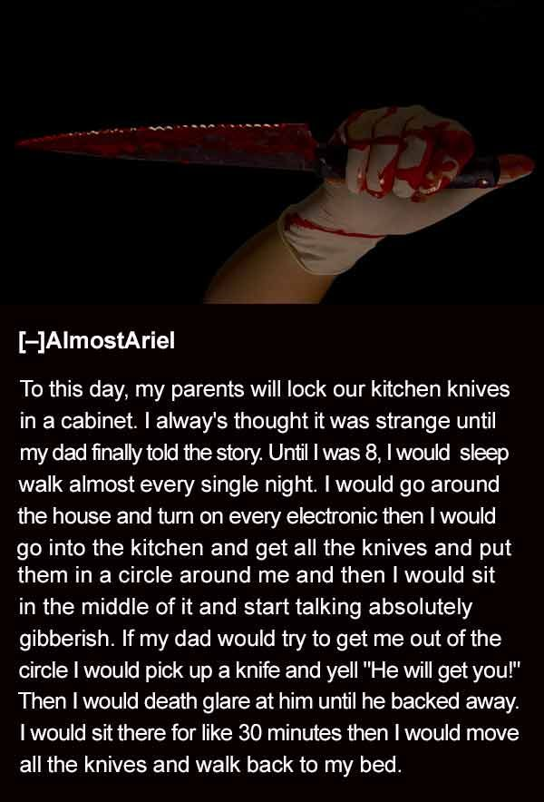 27 More of the Creepiest Things Kids Told Their Parents - Team Jimmy Joe