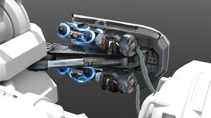 Unreal Tournament Weapons, Adam Wood on ArtStation at https://www.artstation.com/artwork/unreal-tournament-weapons