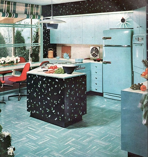 1950 Kitchen Simple 85 Best 1950 Kitchen Images On Pinterest  Vintage Kitchen Retro Decorating Inspiration