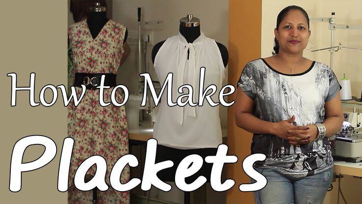 How to make Plackets