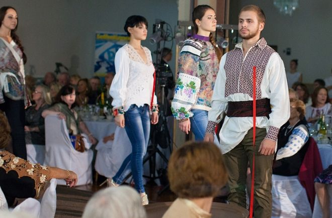 СОБЫТИЕ Показ коллекции Vyshyvanka Couture Оксаны...