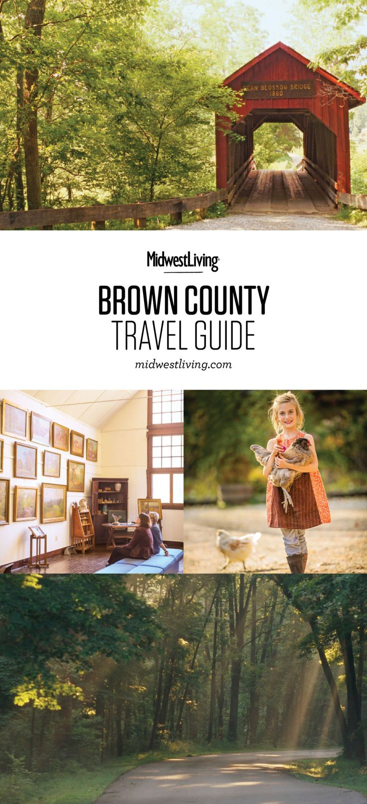 Hiking at Brown County State Park, shopping in Nashville, and learning about the area's artistic heritage at T.C. Steele State Historic Site are just a few of the highlights of Brown County. Check out our recommendations for what to do, where to eat and where to stay.