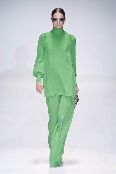 Gucci Milan Fashion Week Spring 2013 Runway Looks - Best Spring 2013 Runway Fashion - Harper's BAZAAR