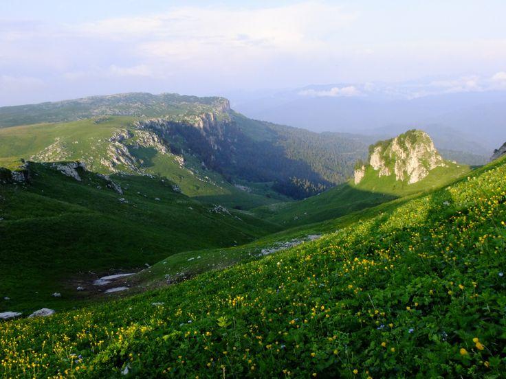 Русская Швейцария. Северный Кавказ, горы Кубани.