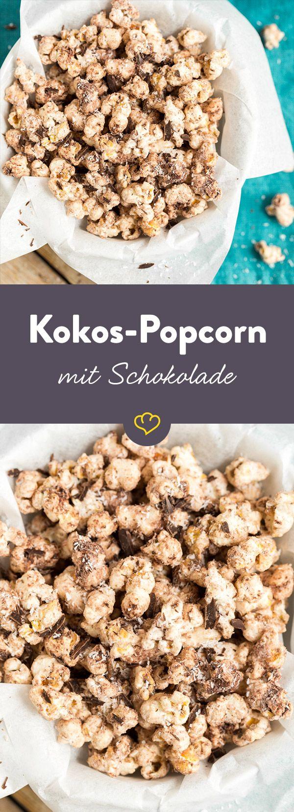 Nussiges Kokosöl, geschmolzene Schokolade und knusprig-warmes Popcorn - kommen diese drei köstlichen Zutaten zusammen, wird der Film zur Nebensache.