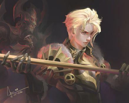 DeviantArt: More Like Ace - Seven Knight by Sanilea