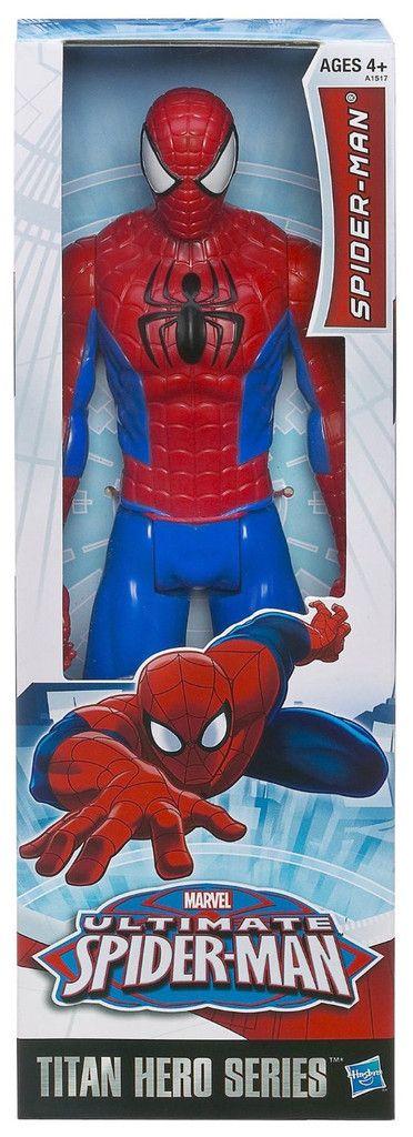 "Spider-man Ultimate Spider-man 12"" Titan Hero Action figure"