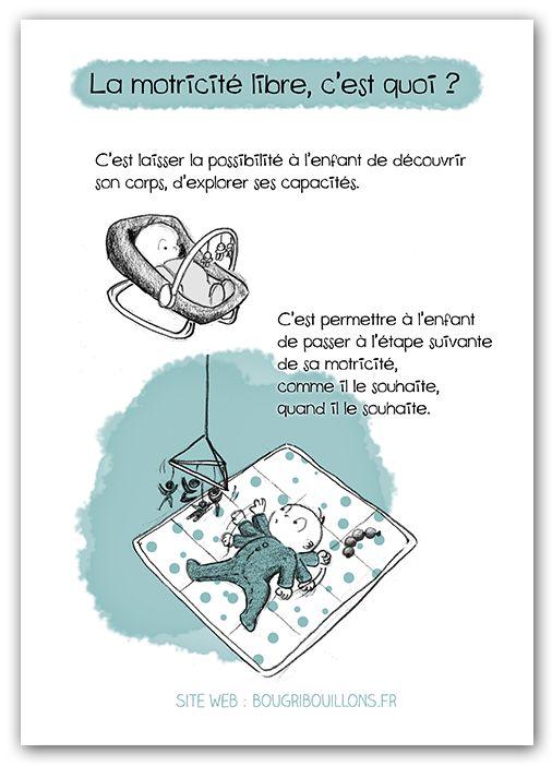 Affiche Petite enfance - Motricité libre