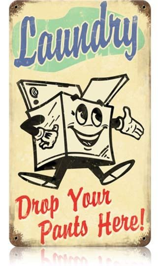 Vintage sign by ellenjewel... i want this sign for my laundry room!!!!!!!