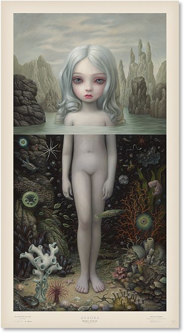 "MARK RYDEN ""Aurora"", 2015. Limited Edition Lithographic Poster. Edition Quantity: 500. Poster Size: 39"" x 21.25"""