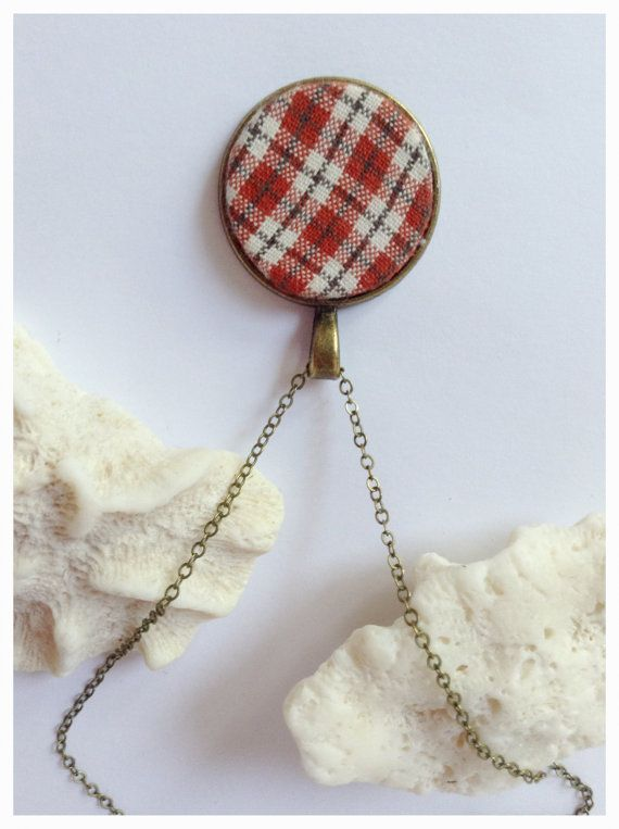 Red+Fabric+Pendant+Lovely+Red+Pendant+Red+by+DanusHandmade+on+Etsy