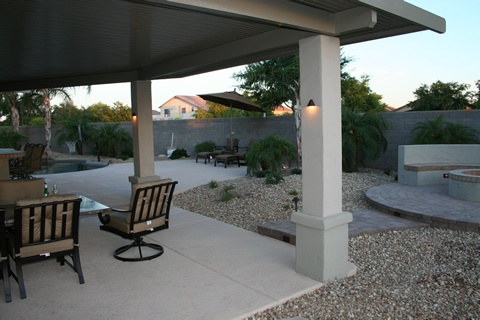 Patio Cover Columns With Lights Note The Bottom Of Column Structure Covers Pinterest Patios And
