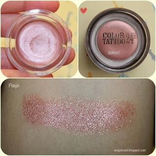 "Maybelline color tattoo ""pink gold no:65"