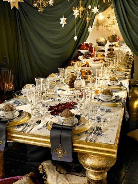 Décors de tables : ambiances pour le réveillon de Noël