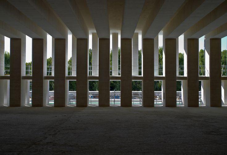 Sistema de encofrado industrial con acabado artesanal en el Museo de Colecciones Reales. Mansilla + Tuñón Arquitectos | TECTÓNICAblog