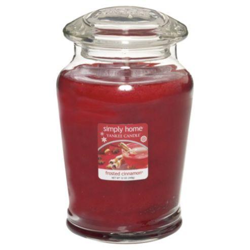 Yankee Candle Medium Jar Frosted Cinnamon #WinterBeautyWonderland