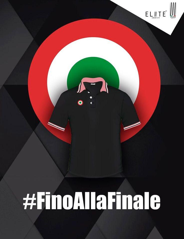 El campeón sigue vigente, el campeón quiere repetir título, vamos hasta el final; lleva la Coccarda de campeón italiano en tu Juve Polo Style envíos a todo el país.