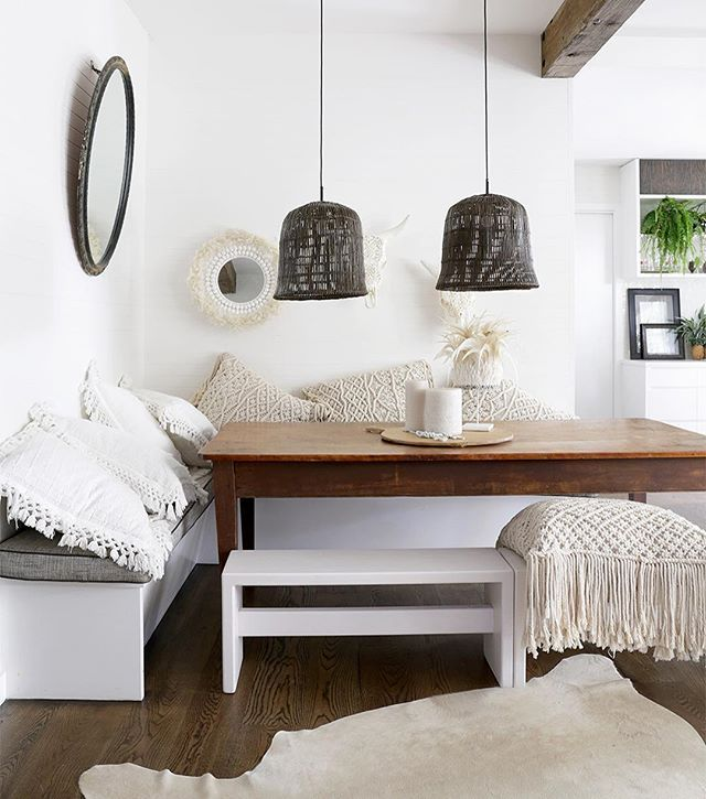 WEBSTA @ villastyling - Villa Styling followers I have a special offer for you 15% OFF and FREE SHIPPING on the stunning Indrani Macrame Cushions as pictured here in our fab recent shoot for @losarihomeandwoman HURRY - LIMITED STOCKS click my web site link above to grab the code for a direct purchase! Via www.thedesignvilla.com.au