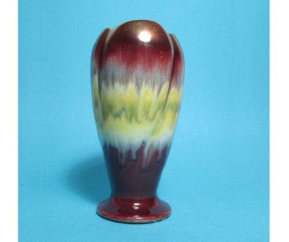 Vintage Vase Flower Vase Bay Keramik 548 West German by PeteStop